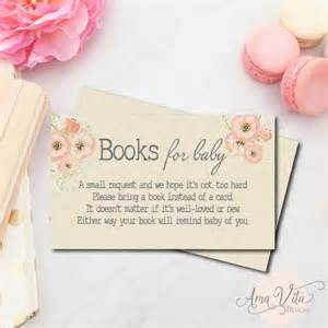 books instead of cards build a library invite books
