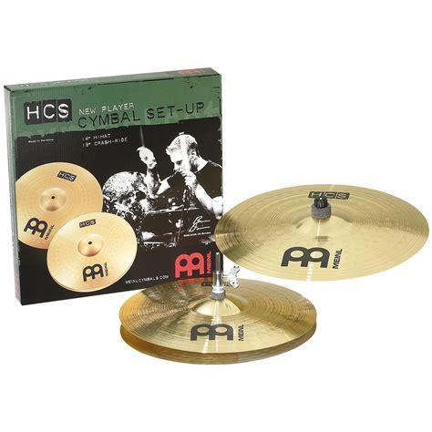Meinl Cymbal Set Hcs14162010s Paket Meinl Cymbal Hcs Series meinl hcs 2 cymbal box set hi hats 18 quot crash hcs1418