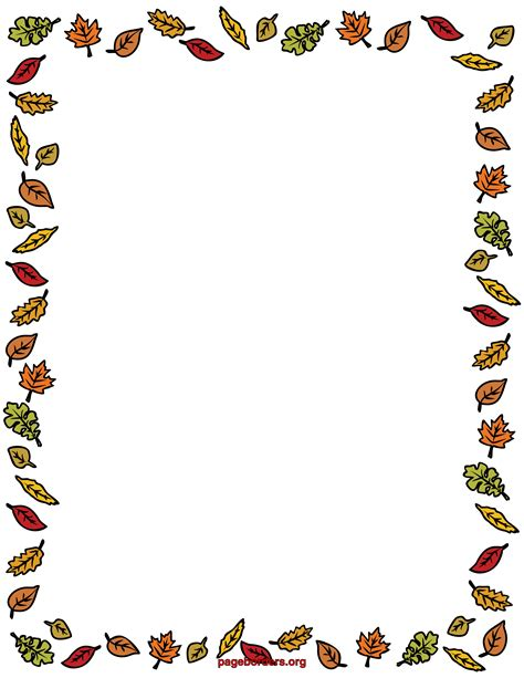 leaf border coloring pages free coloring pages of autumn border ősz fall pinterest