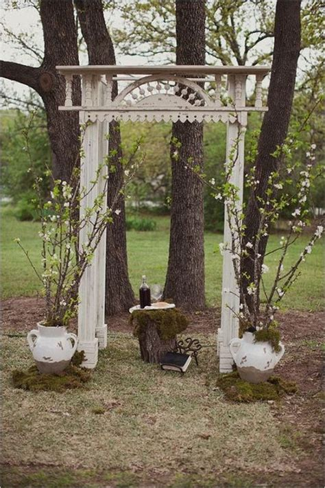 Backyard Wedding Backdrop 47 Dreamy And Backyard Wedding Backdrops And