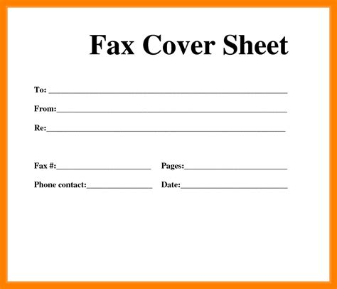 Fax Cover Sheet Template Open Office by Fax Cover Sheets Pacq Co
