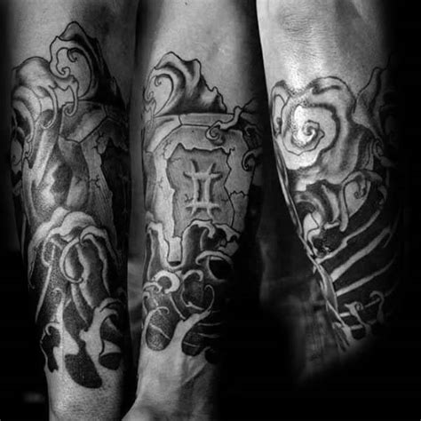 gemini sleeve tattoo designs gemini tattoos for ideas and inspiration for guys