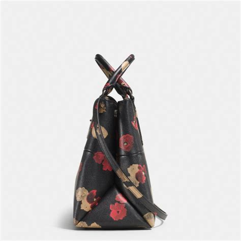 Coach Borough Floral coach turnlock borough bag in floral print leather lyst