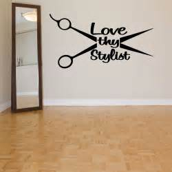 wall room decor vinyl decal sticker mural hair