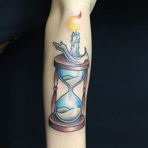 hour glass tattoos 85 best hourglass designs and meanings time is
