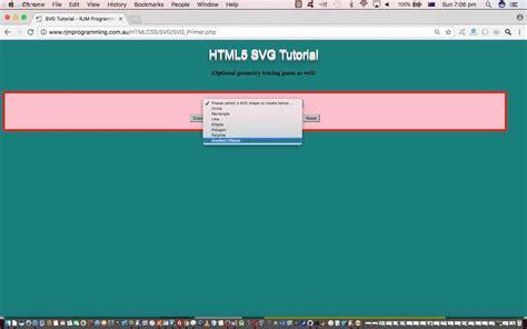 svg pattern javascript php javascript svg geometry tracing tutorial robert