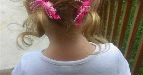 8 easy little girl hairstyles sweetest bug bows girlie cute braided hair do for little girl so easy we went to