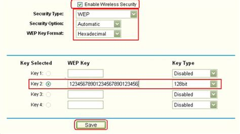 how do i secure my wireless network by using wep