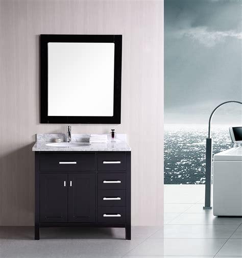 36 espresso bathroom vanity