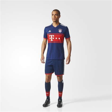 Limited Edition Jersey Bayern Munchen Away 2017 2018 Grade Ori bayern munich 17 18 adidas away kit 17 18 kits football shirt