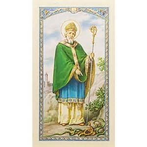 st s breastplate prayer card the catholic company
