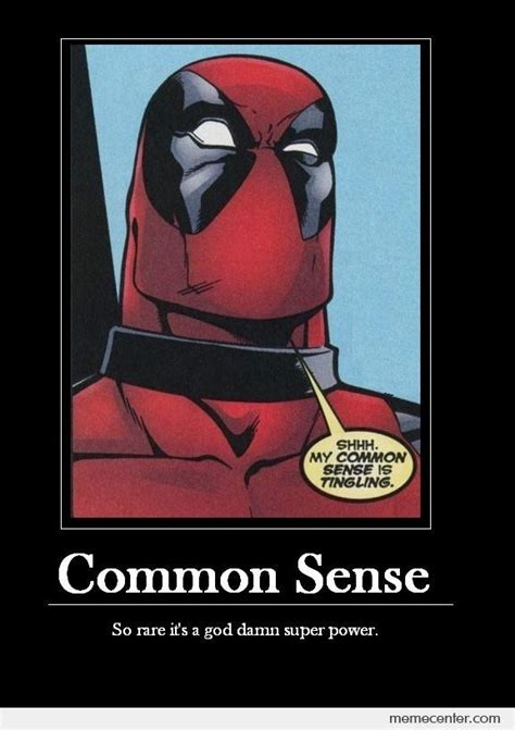 Common Sense Meme - common sense by ben meme center
