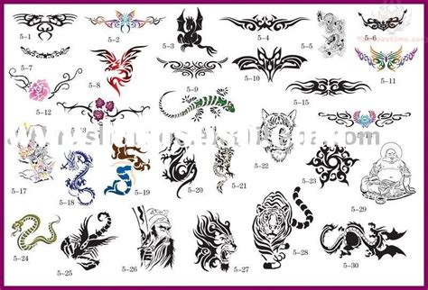 airbrush tattoo stencils