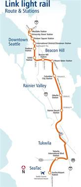 Link Light Rail Seattle Map by Seattle Public Transit Link Related Keywords Amp Suggestions