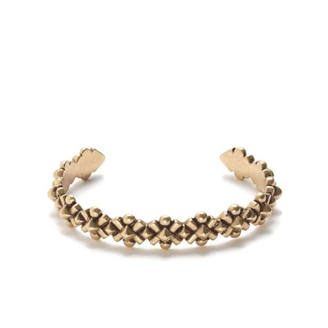 Metal bloom cuff bracelet :   J.Crew
