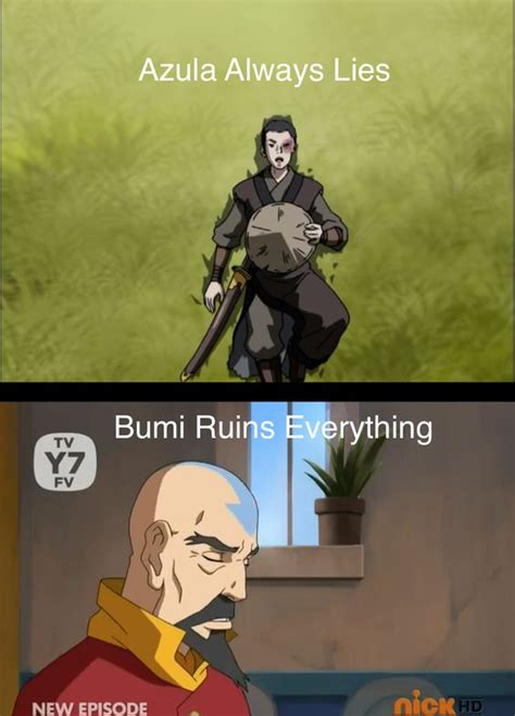 Legend Of Korra Memes - avatar the legend of korra bumi meme google search the