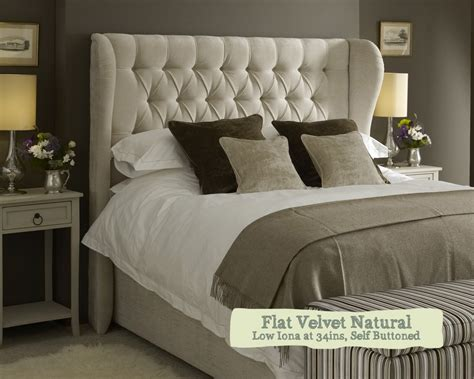 How To Make A Winged Headboard by Kingsize Winged Iona Headboard Luxury Starting From 163 678