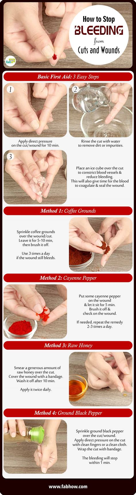 how to stop bleeding on a how to stop bleeding from cuts and wounds in less than a minute