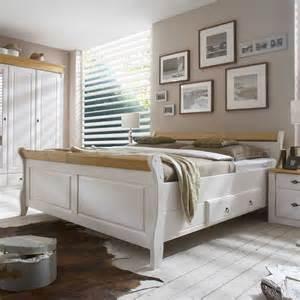 bett mit komforthöhe funvit schlafzimmer braun