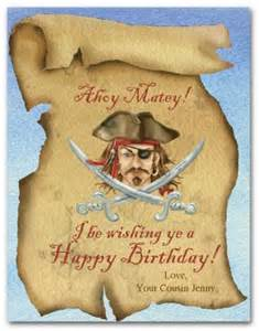 printable pirate birthday card template