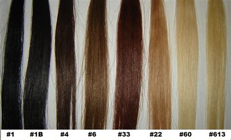 hair extension color chart human hair clip in hair extensions