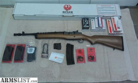 ruger mini 14 target edition armslist for sale trade ruger mini 14 limited edition