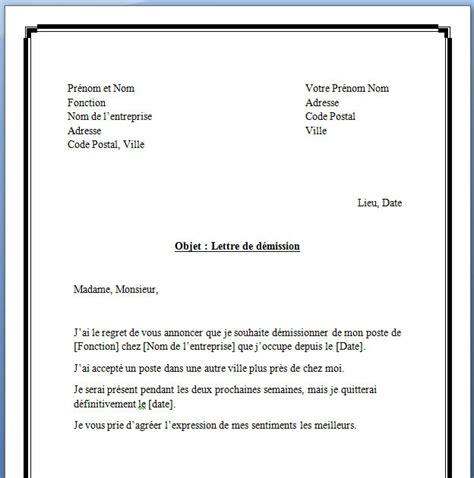 Exemple Lettre De Démission Réduction Préavis Lettre De D 233 Mission R 233 Duction Pr 233 Avis Application Letter
