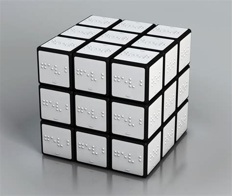 rubix cube colors color rubik cube for the blind yanko design