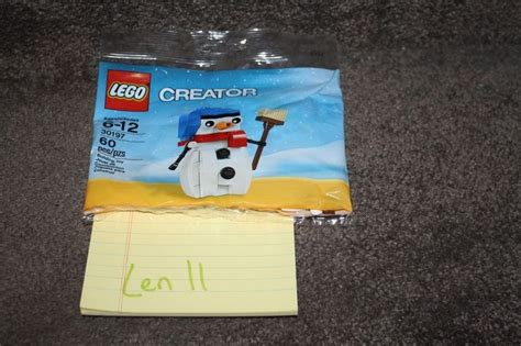 Lego 30197 Snowman Winter Polybag Creator new lego creator snowman 30197 seasonal