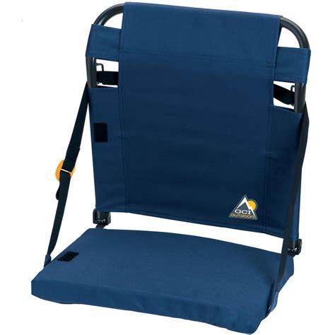 bleacher chairs with backs gci outdoor bleacherback stadium seat navy 10015 b h photo
