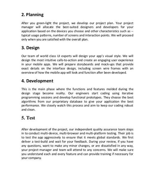 mobile app development project management process