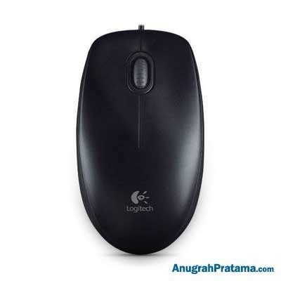 Mouse Logitech M100r logitech wired optical mouse m100r 910 003301 black mouse anugrahpratama