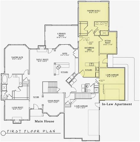 houses with inlaw apartments 2018 house plans with in suite delightful best house plans with inlaw apartments