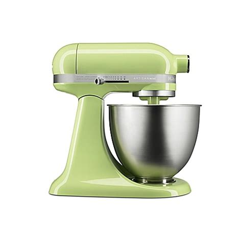 kitchenaid bed bath and beyond buy kitchenaid 174 artisan 174 mini 3 5 qt mixer in honeydew