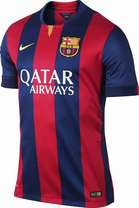 Unik Jersey Barcelona Home 2016 2017 Grade Ori Diskon fc barcelona 14 15 2014 15 home away and third kits footy headlines