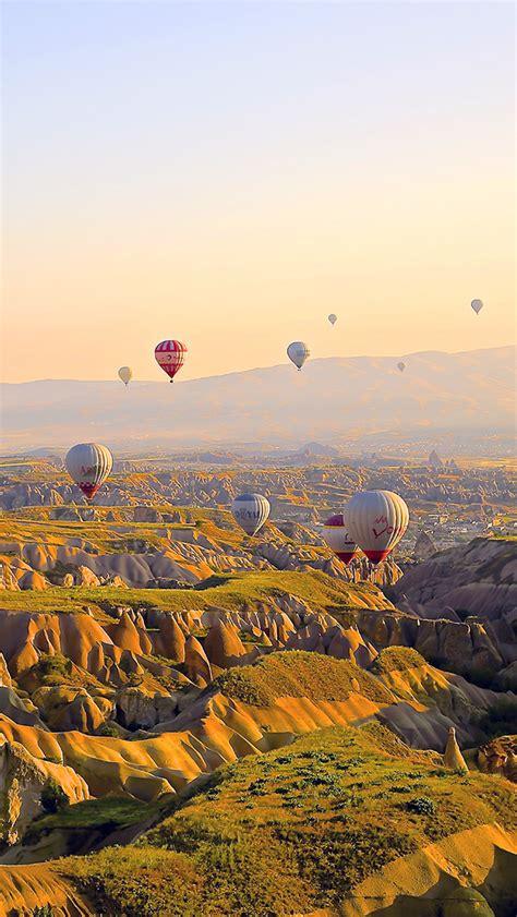 wallpaper for iphone travel freeios7 mx87 turkey balloon travel mountain parallax