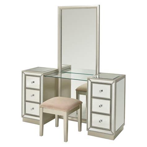 Vanity Set El Dorado Uribia Vanity W Bench El Dorado Furniture