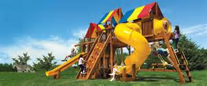 Playground Set For Backyard Rainbow Play Systems Of Iowa Iowa S Playground Headquarters