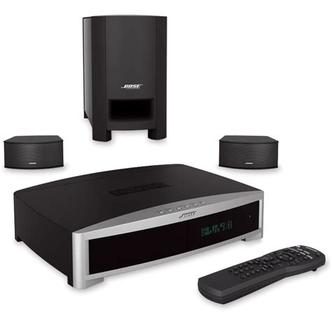 the discreet bose 3 2 1 home theater system hammacher