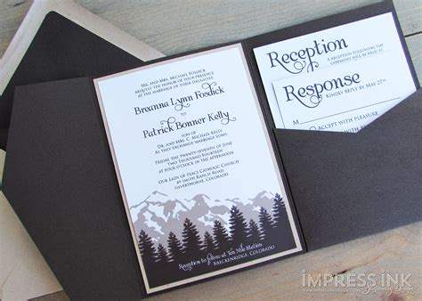 Wedding Invitations Mountains by Best Compilation Of Mountain Wedding Invitations