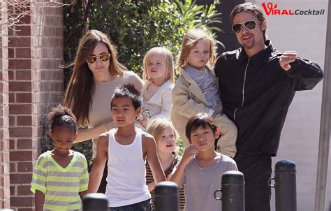 New Photo Of The Pitt Family by New Addition In And Brad Pitt S Family