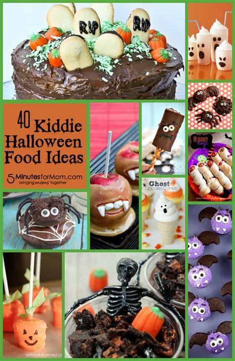 kiddie halloween food ideas