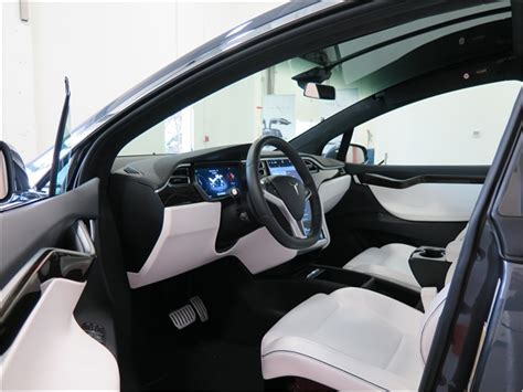 Model X Interior by Tesla Model X Prices Reviews And Pictures U S News World Report