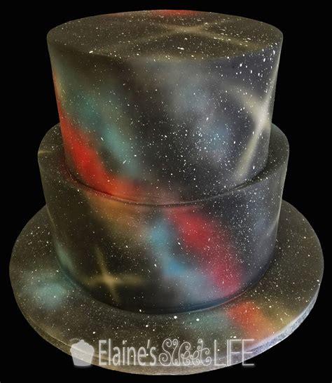Galaxy Pan Cake 7 Lubang elaine s sweet cakes