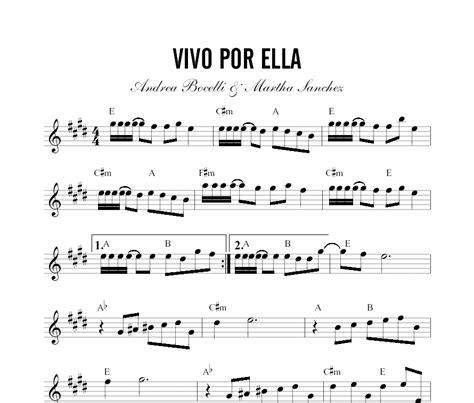 tutorial piano vivo por ella partitura vivo por ella
