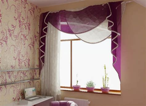 Purple Valances For Windows Ideas 33 Modern Curtain Designs Trends In Window Coverings