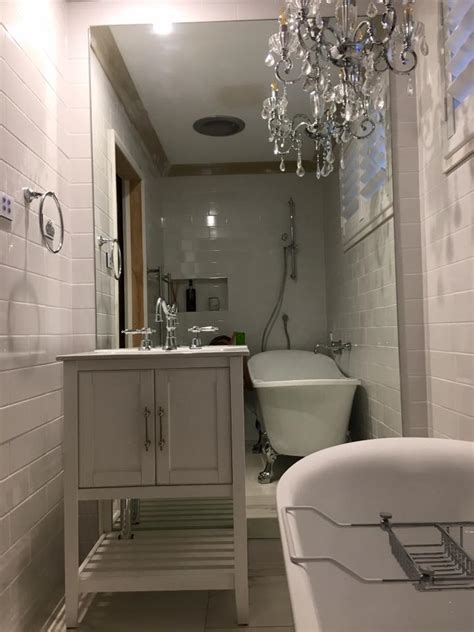 snazzy big mirrors  bathroom  lend  complete