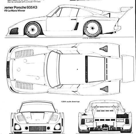 f1 car cake template porsche 935 blueprint free blueprint for 3d