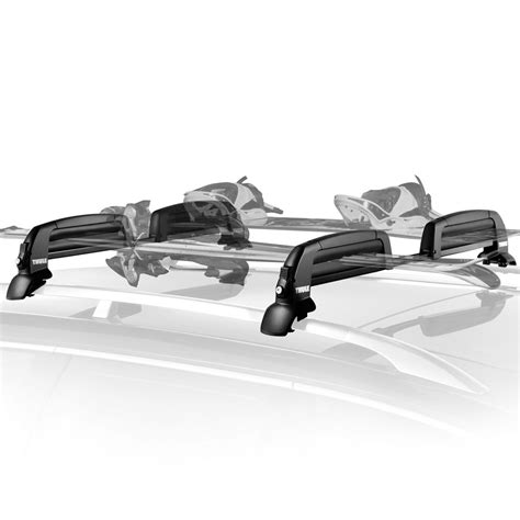 Thule Snowboard Rack by Thule 174 Volkswagen Golf Tdi Wagon 2010 Snowcat Ski And