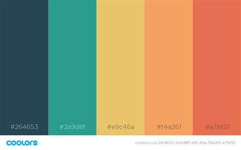 beautiful color palettes    design project